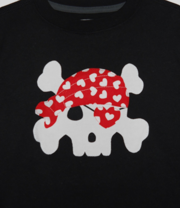 valentine's day applique shirts