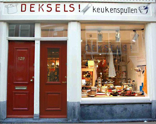 Keukenspullen Winkel : cookshop Amsterdam Pinterest