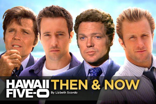 Hawaii five o original cast and new cast