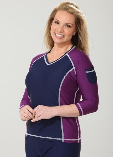 plus size rash guard swim shirt modesty pinterest