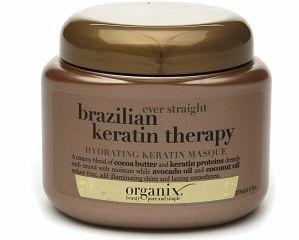 Ever straight brazilian keratin therapy hydrating keratin mas