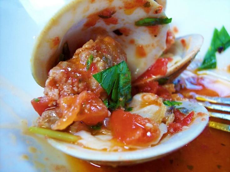 Clams on the Grill! - Proud Italian Cook | Clams & Mussels | Pinterest
