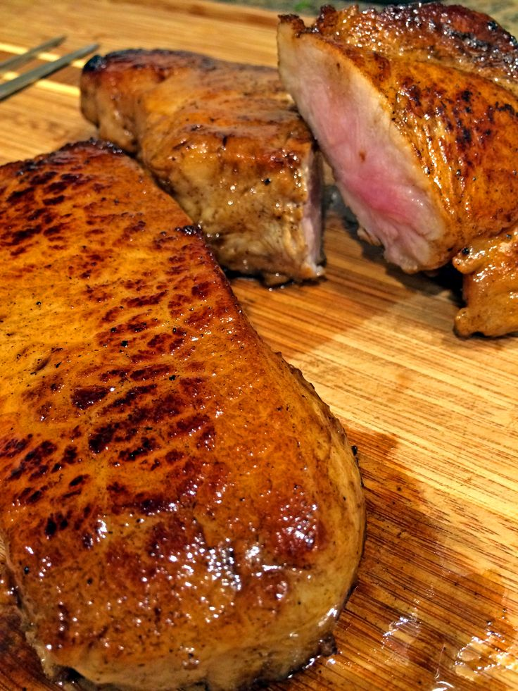 brown sugar and mustard glaze sage brined pork chops with brown sugar ...