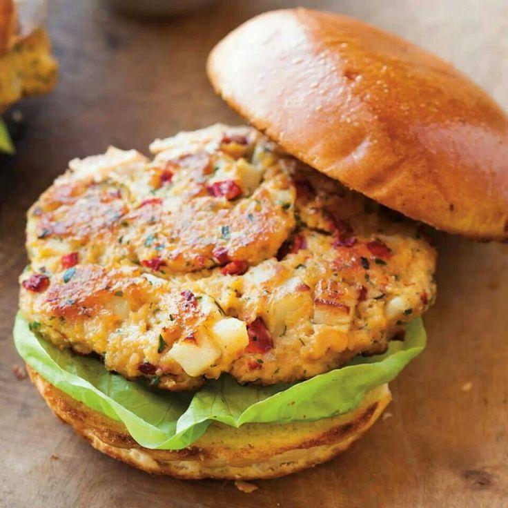 Chickpea burger | What's for Dinner? | Pinterest