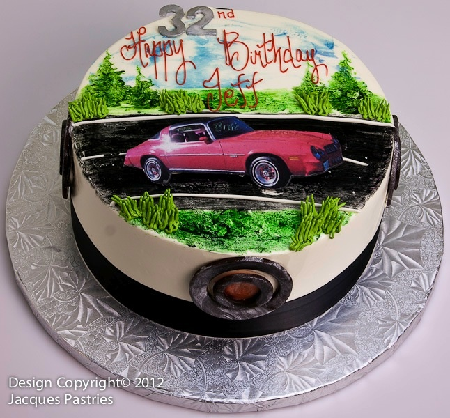 Cake Decoration Of Cars : Muscle Car Cake Adult Cakes: All Occasion Pinterest