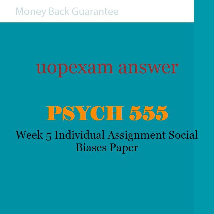 Social Work home work paper