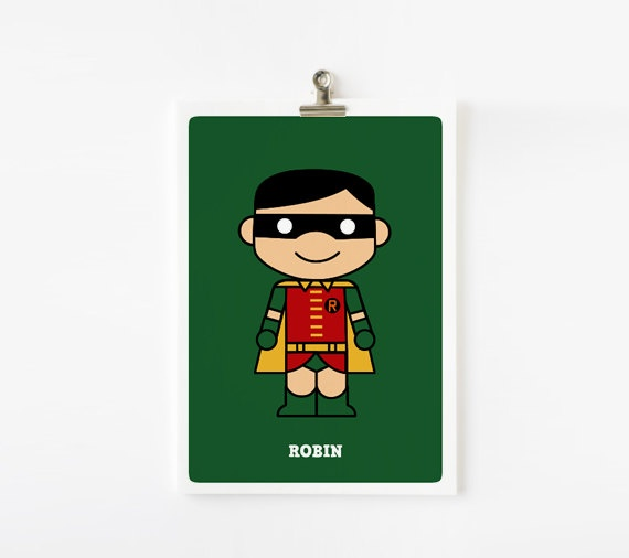 Cute superhero - Batman and Robin