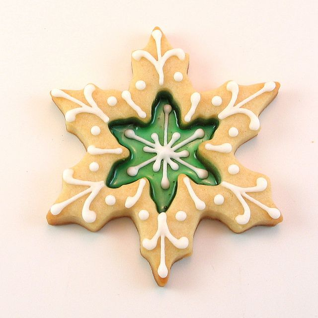 Stained glass window cookie. | A Merry Little Christmas | Pinterest