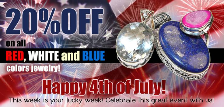 july 4th jewelry sale