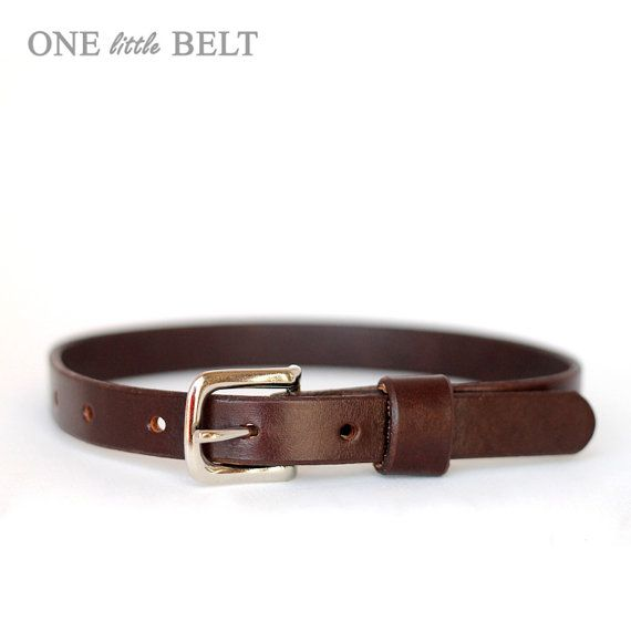 toddler baby boy s dress belt brown leather
