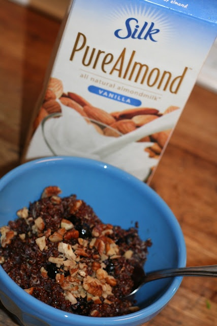Warm Nutty Cinnamon Quinoa | a better breakfast | Pinterest