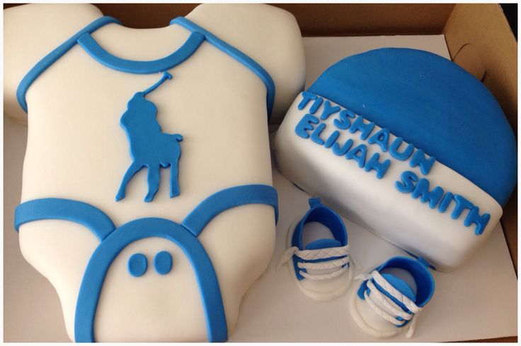 polo onesie baby shower cake sweet dlightz pinterest