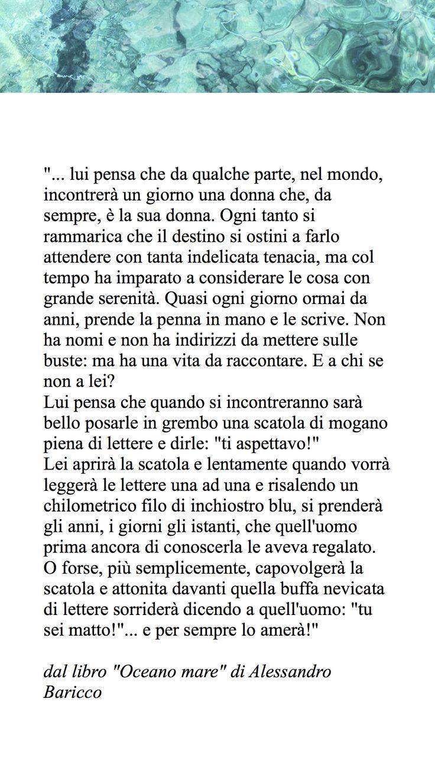 Eccezionale Baricco | frasi celebri | Pinterest FZ45