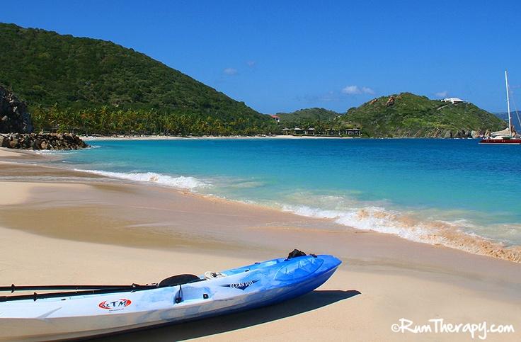 Little Deadman's Beach, Peter Island. Find out how this gorgeous beach got its name!