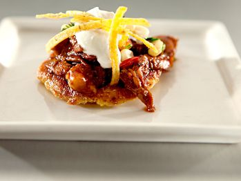 Top Chef Masters chicken-and-beef-adobo-with-cornmeal-pancakes-and ...