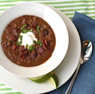 Black Bean Pumpkin Soup | Beans | Pinterest