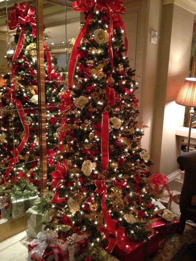 Rbol de navidad decorado navidad christmas pinterest - Arbol de navidad decorado ...