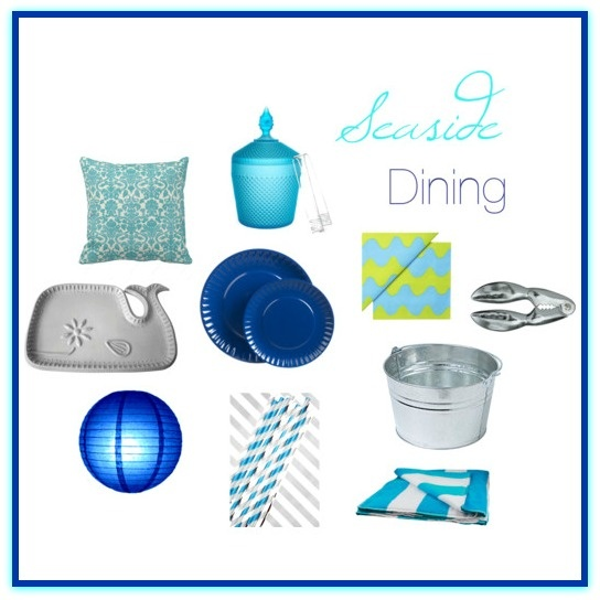 swanky::chic::fete: seaside dining inspiration