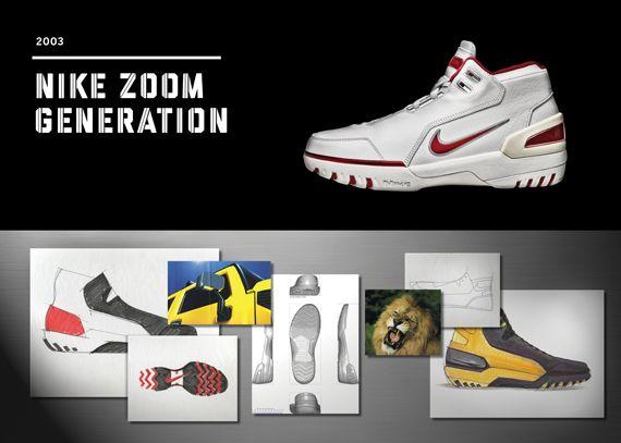 20 Years Of Nike Basketball Design: Zoom Generation (2003)