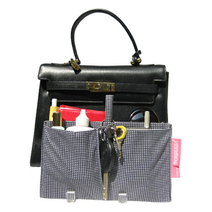 Junior Drop-in Purse Organizer -- because the standard size is just too big.