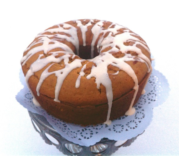 pumpkin coffee cake - use with Ina's sour cream coffee cake streusel ...