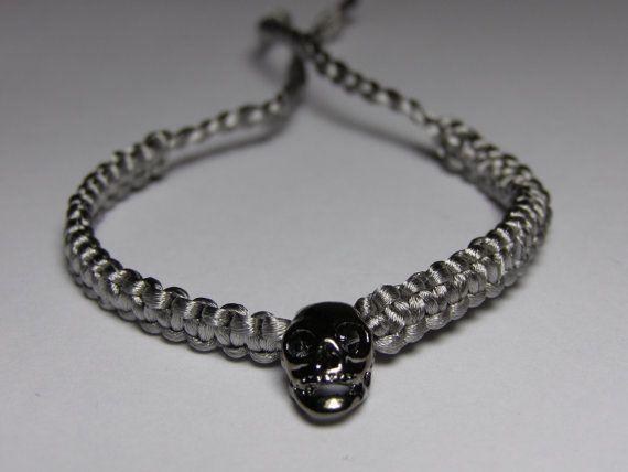 Scull Bracelet by ByKarianne on Etsy, kr55.00