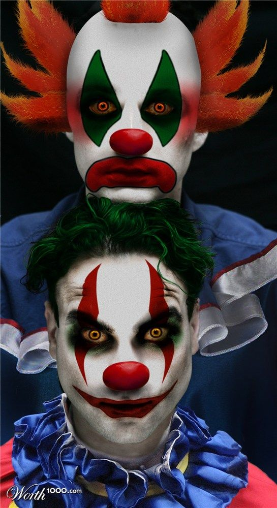 Maquillage Clown Qui Fait Peur Elegant Maquillage Clown Qui Fait
