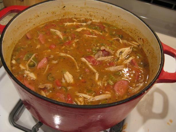 Gumbo Cookoff Winner - Chicken And Sausage Gumbo Recipe - Food.com ...