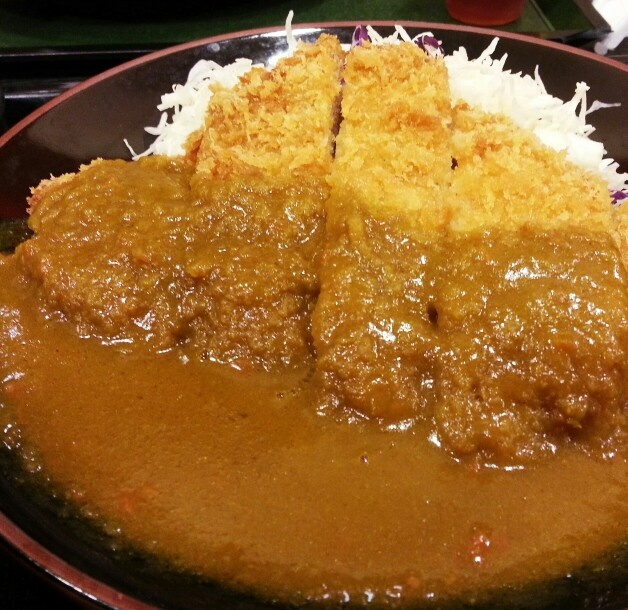 tonkatsu curry pork cutlet on rice | Pig-Out! | Pinterest