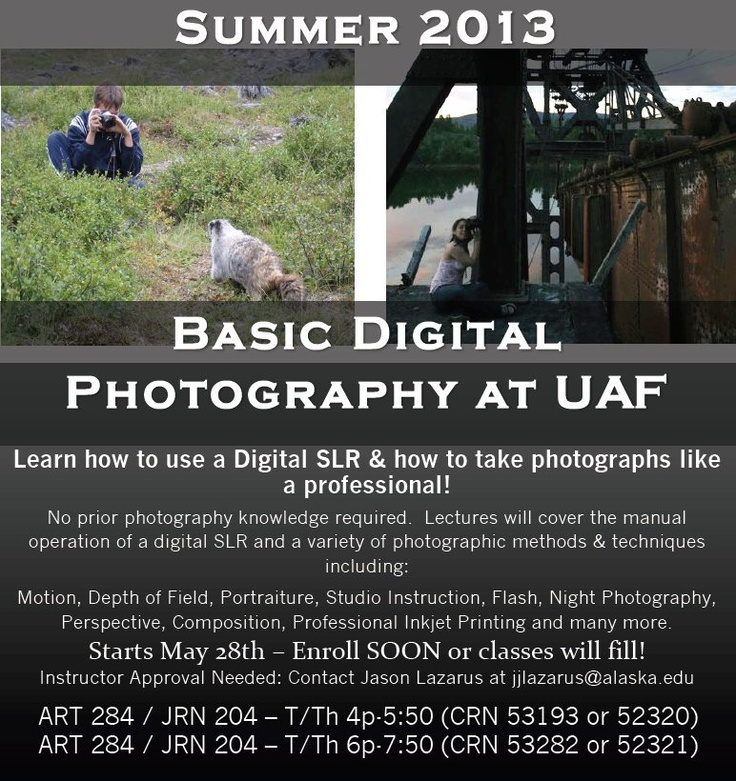 Dslr photography classes rochester ny