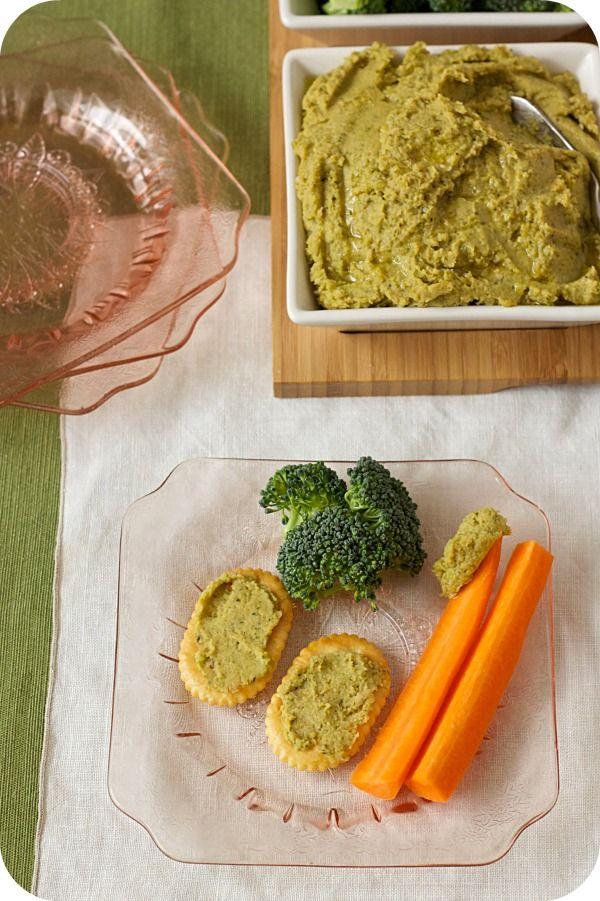 Roasted Broccoli Hummus - | foodies | Pinterest