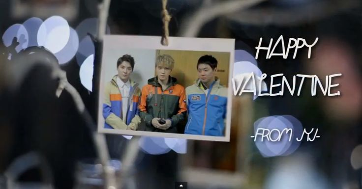 happy valentine jyj