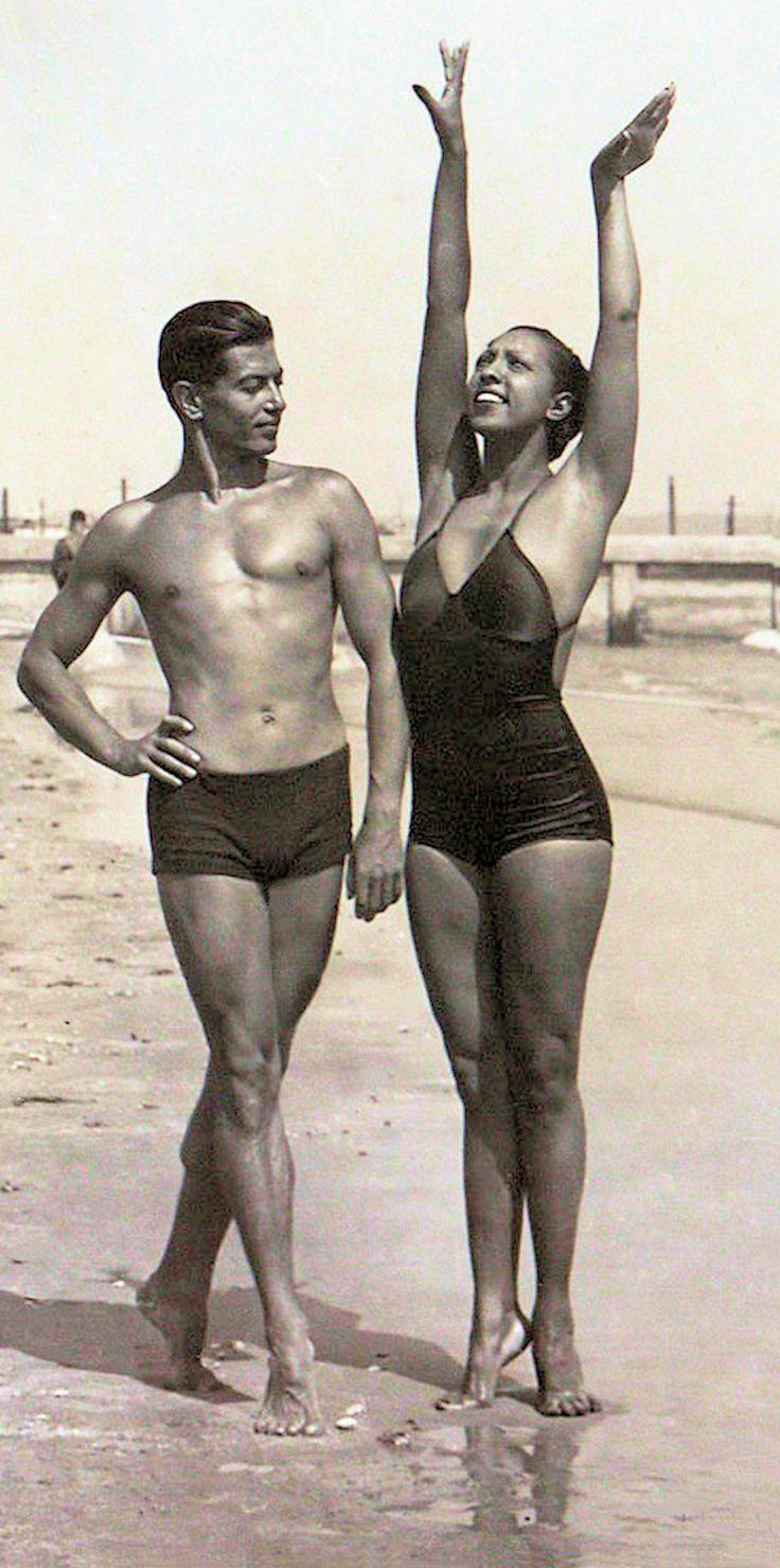 Josephine baker and serge lifar 1930 s