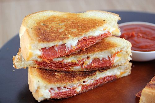 Pizza Grilled Cheese...omg yum!