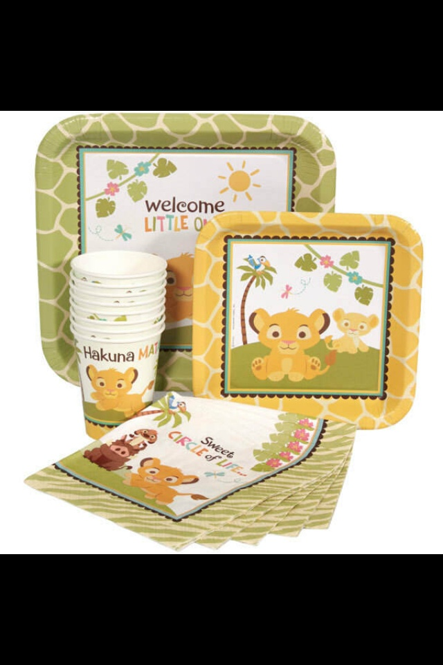 baby lion king baby shower supplies baby things pinterest