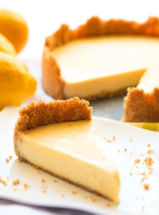 Lemon ice box pie - | YUM | Pinterest