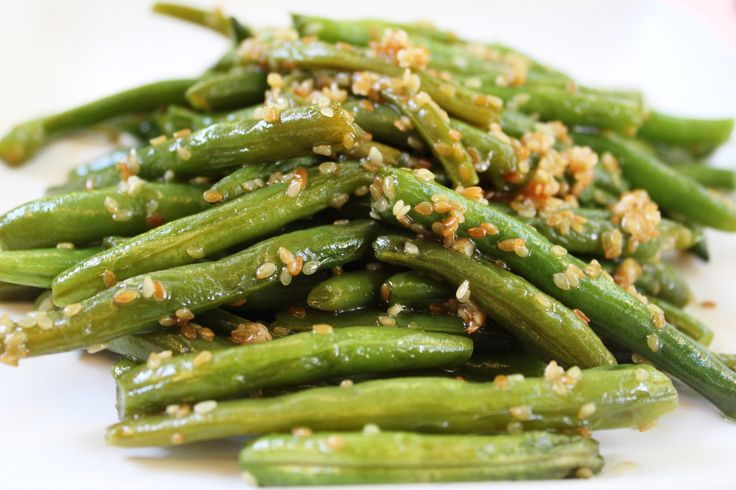 Quick Sesame Green Beans Recipes — Dishmaps