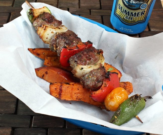 Spicy Thai Lamb Kabobs | F O O D | Pinterest