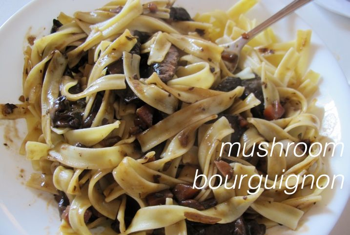 mushroom bourguignon | food GLORIOUS food | Pinterest