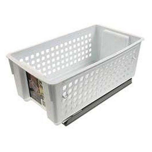 Slide Out Storage Basket Kitchen Pantry Sliding Cabinet