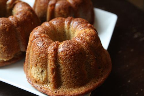 Pecan-Cardamom Pound Cake (or Chai Spiced Pound Cake)