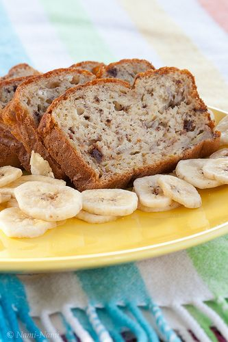 Nami-Nami's all-time favourite banana bread (with no added fat!)