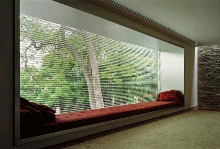 Window Seat With Storage Underneath And Beautiful Views Bifold Windows