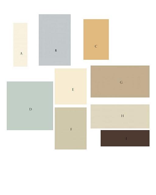 ben moore paint color scheme