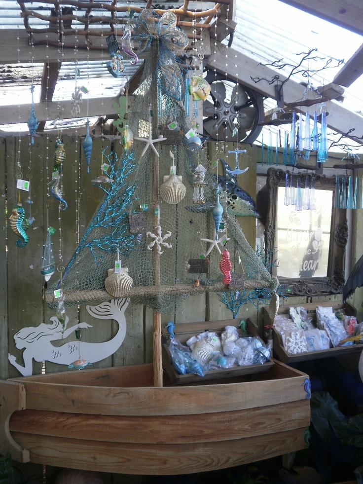 Nautical themed christmas the back yard pinterest for Nautical themed backyard