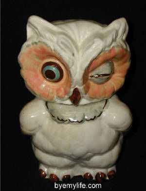 My Mum had a cookie jar like this one with salt & pepper shakers that ...