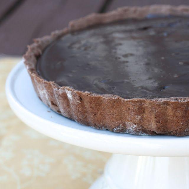 Chocolate Caramel Banana Hazelnut Tart | Did you say caramel? | Pinte ...
