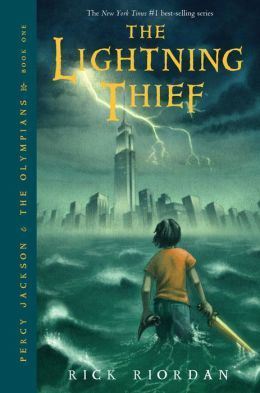 The Lightning Thief (Percy Jackson and the Olympians Series #1). I love it. :D