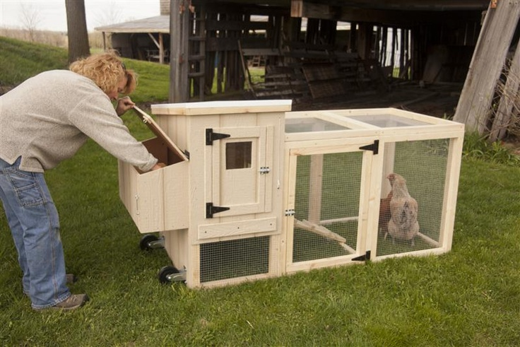 portable backyard chicken coop