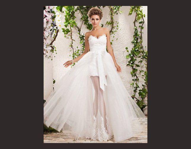Robe de mariée courte sexy  Mariage  Pinterest